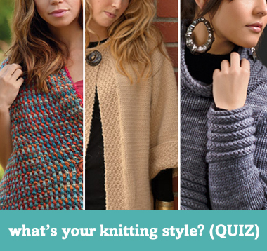 What's your knitting style?