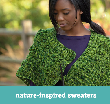 Nature-inspired sweaters