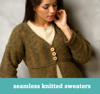 Seamless knitted sweaters