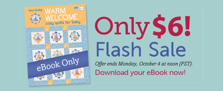 Warm Welcome flash sale: only $6!
