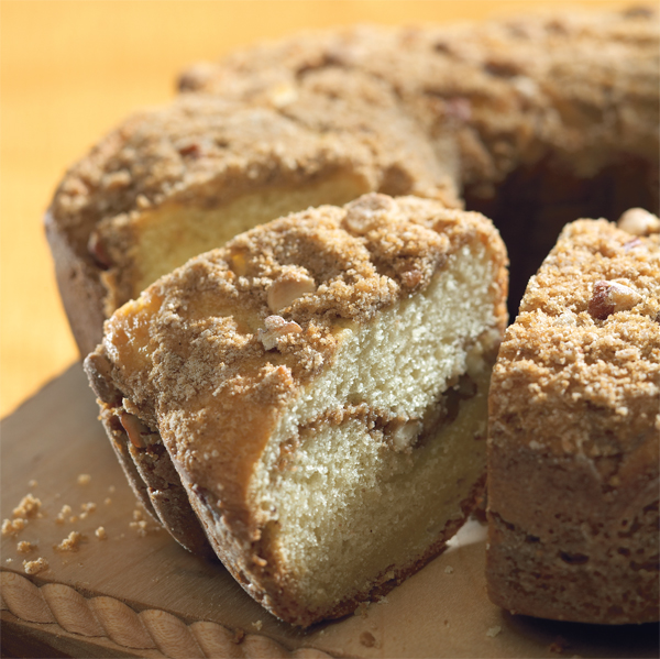 White Chocolate Sour Cream Coffee Cake recipe