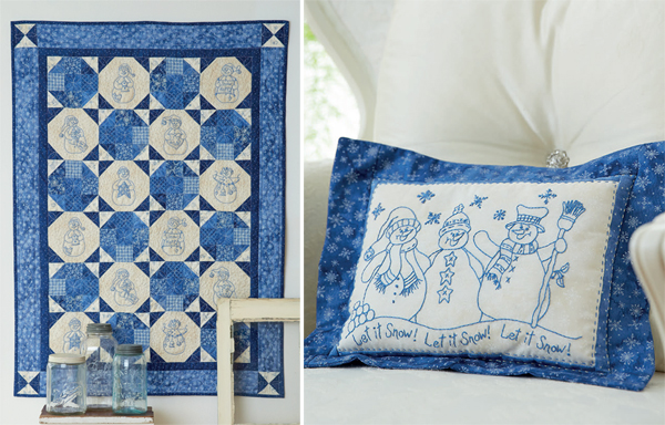 Quilt-and-pillow-from-Snow-Happy