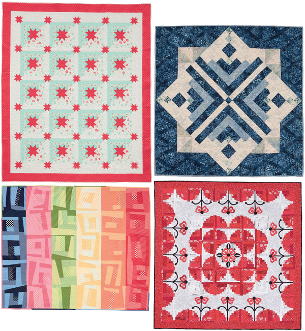 Quilts-from-Block-Buster-Quilts-I-Love-Log-Cabins