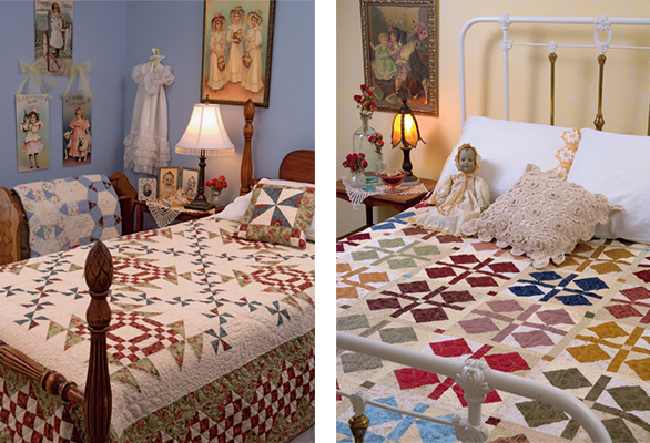 bed quilts from Simple Traditions by Kim Diehl