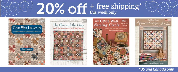 Save 20% on select books this week - plus free shipping