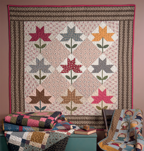 Peony-Star-quilt-from-Remembering-Adelia
