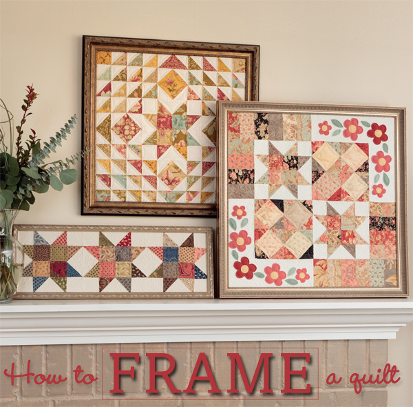 How-to-frame-a-quilt