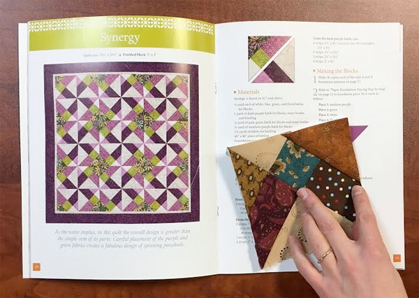 paper piece quilting instructions