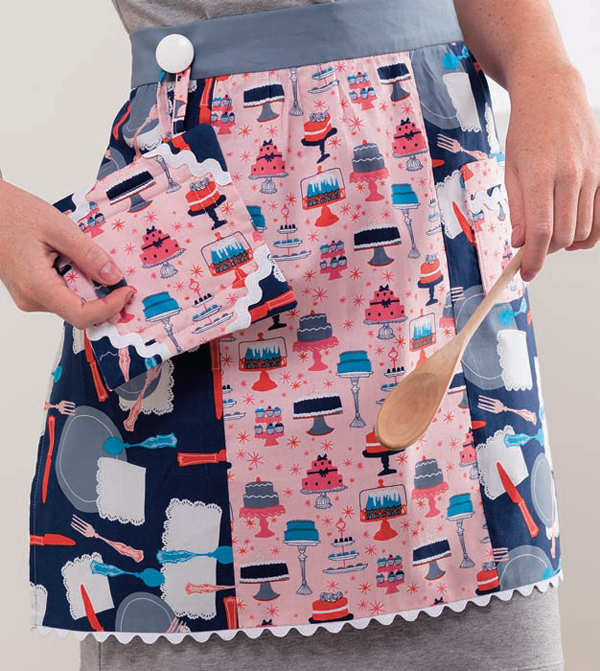 Fat-Quarter-Apron-and-Pot-Holder