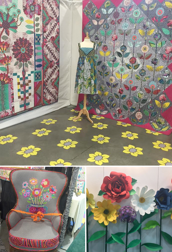 Quilt-Market-trend--big-flowers