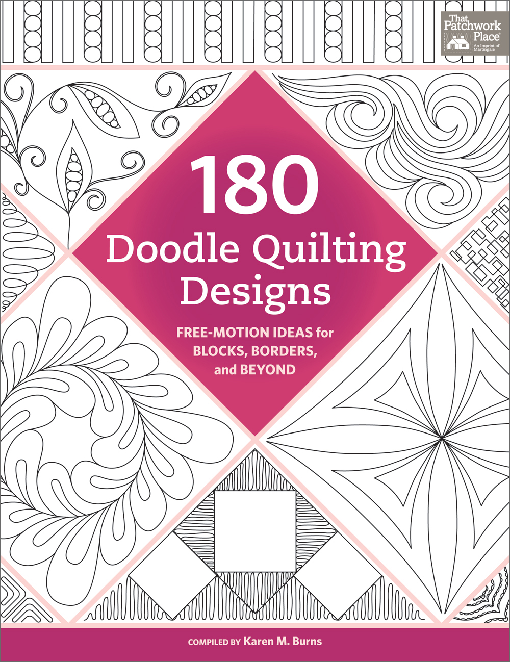 Trace - doodle - free-motion quilt! 180 doodle patterns to try (+ ... : free motion quilt designs - Adamdwight.com