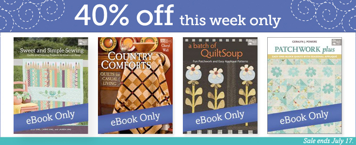 Save 40% on select eBooks this week!