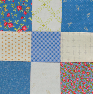 Nine-Patch-quilt-block