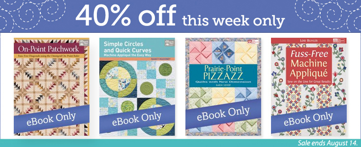 Save 40% on select eBooks this week only