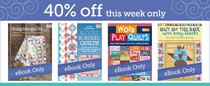 Save 40% on select eBooks this week only!