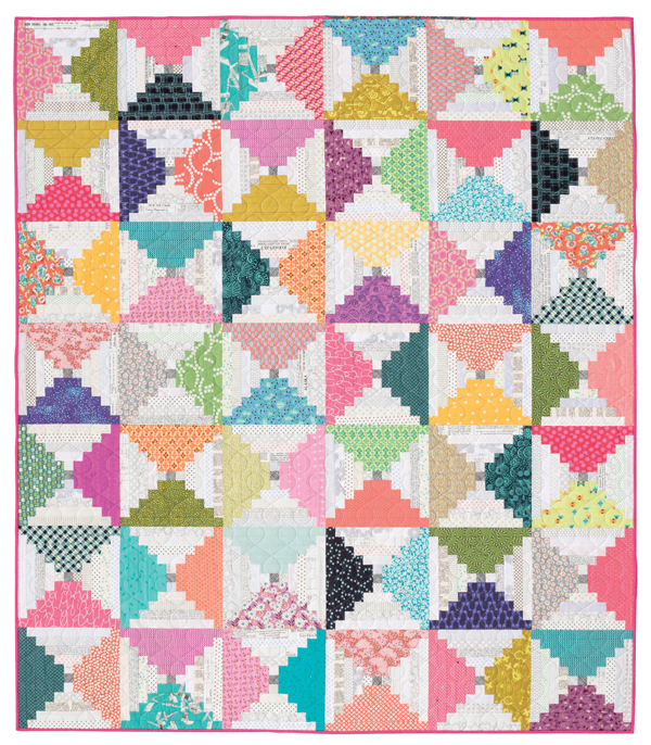 Hourglass-Courthouse-Steps-quilt
