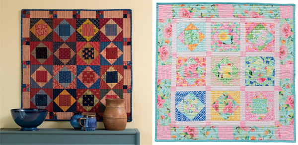 Square-in-a-Square-quilts
