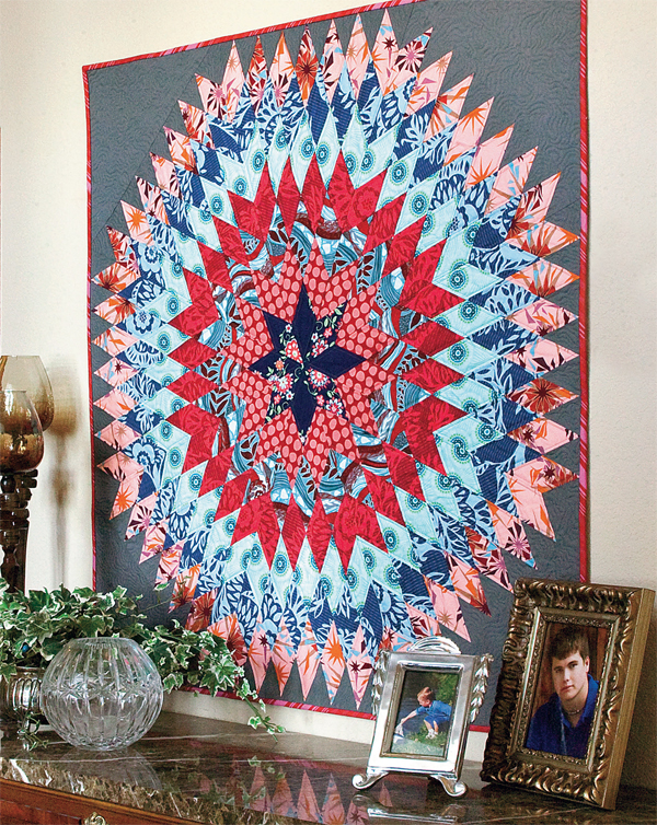 Flash sale wonderful quilts for walls all year long for Front door quilt pattern