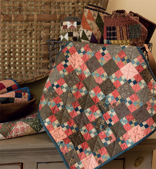 Double-Four-Patch-quilt