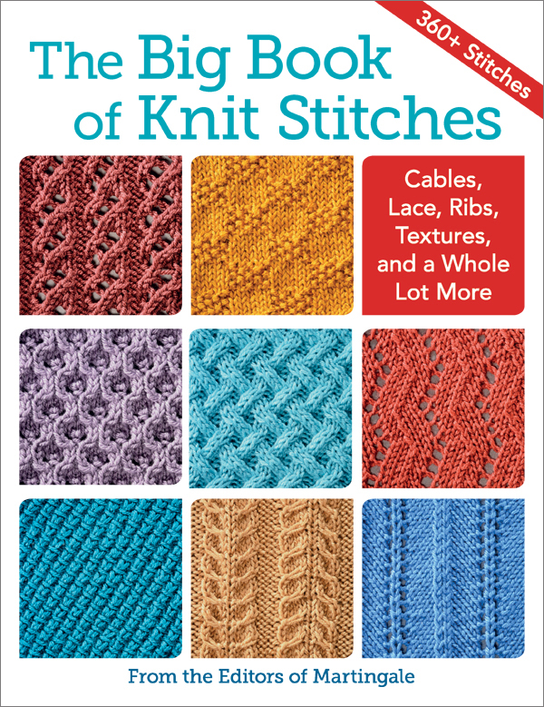 366 different knit stitches at your fingertips: oh, the possibilities! (+ giv...