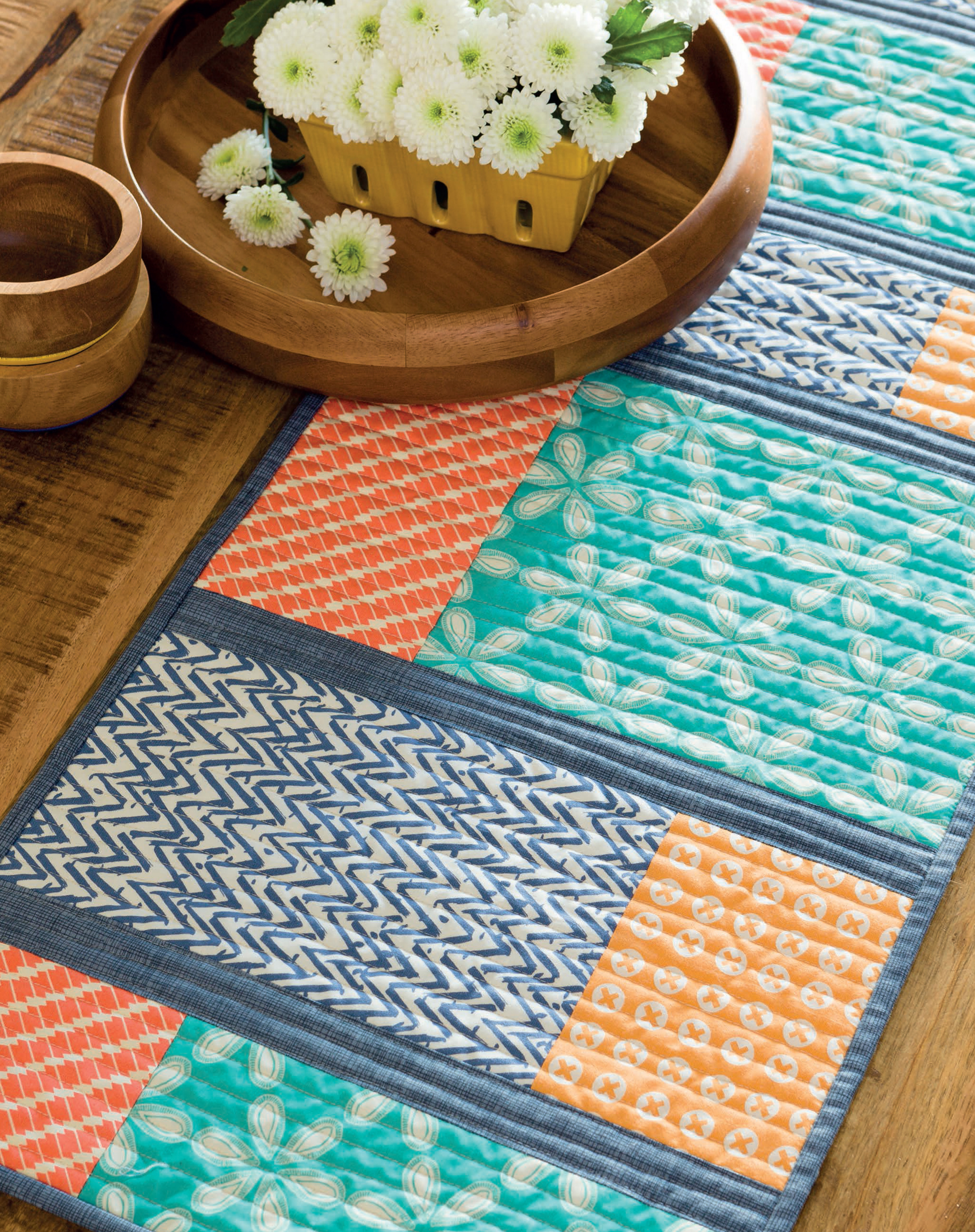 Color-Block Table Runner