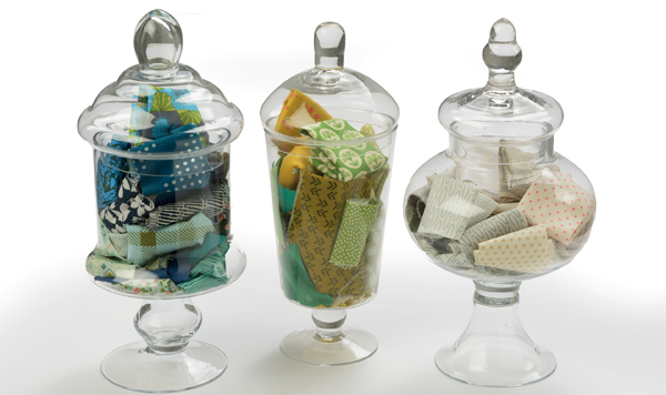 Keep-fabric-scraps-in-jars