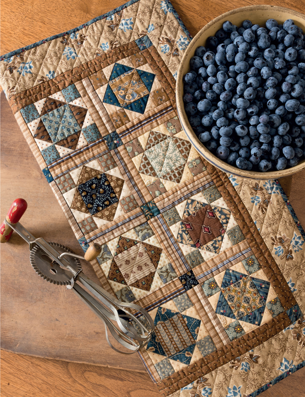 Blueberry Buckle quilt
