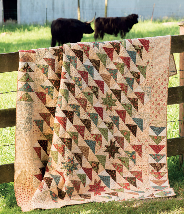 Due South quilt