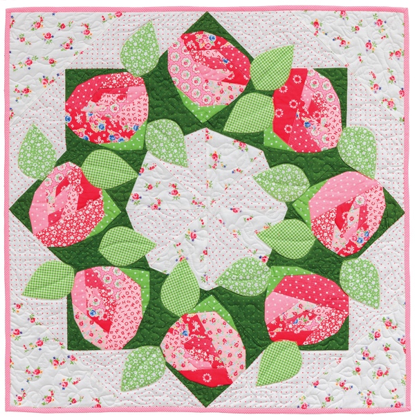 Rose Wreath quilt