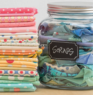 best way to organize fabric stash