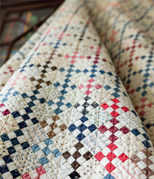 how to quilt a patchwork quilt just like civil war era quilts