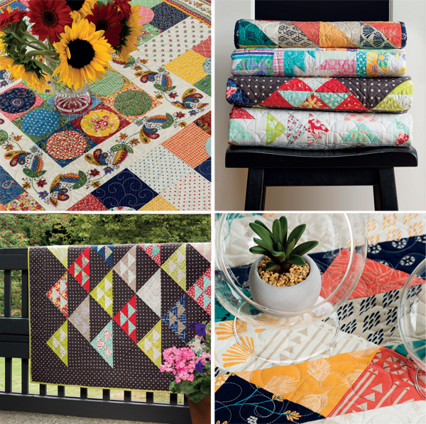 From Moda All-Stars: Lucky Charm Quilts