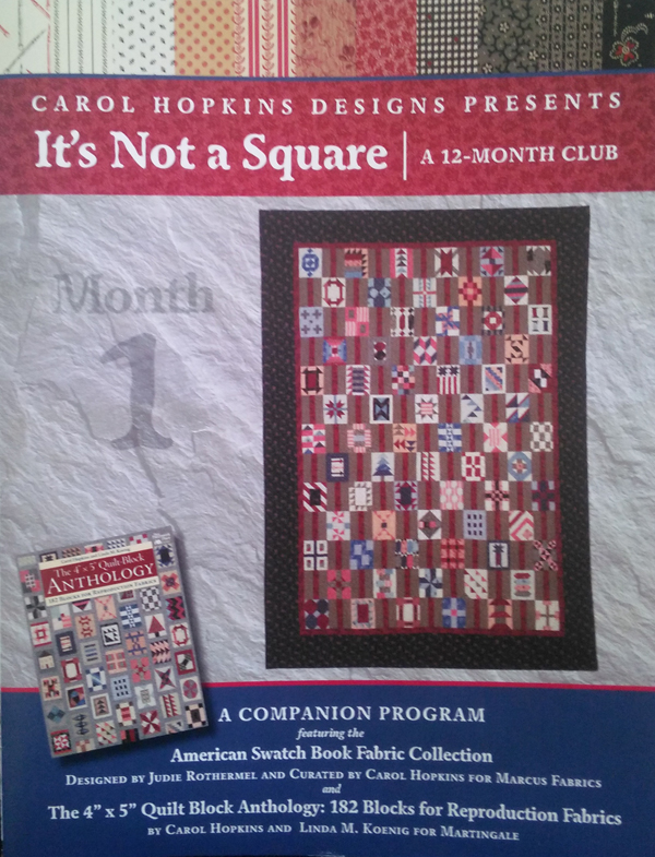 It's Not a Square Block-of-the-Month Club