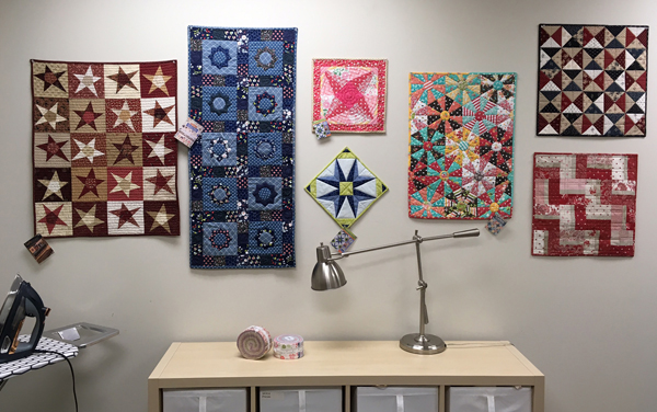 Mini-quilt gallery at Martingale