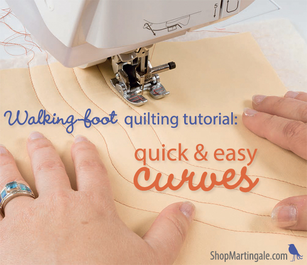 Walking-foot quilting tutorial