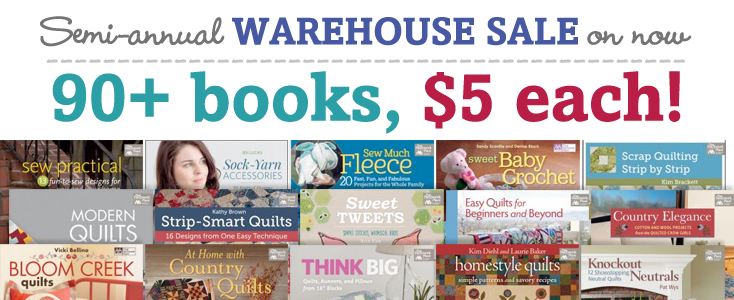 5 bucks a book - warehouse sale!