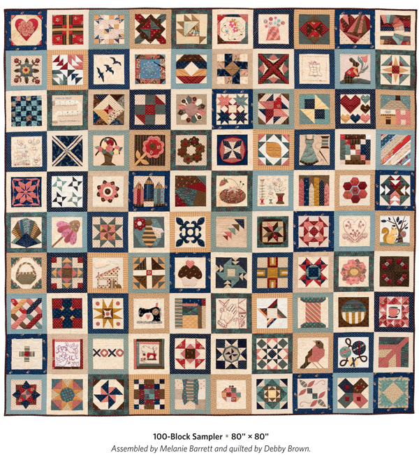 100-Block Splendid Sampler quilt