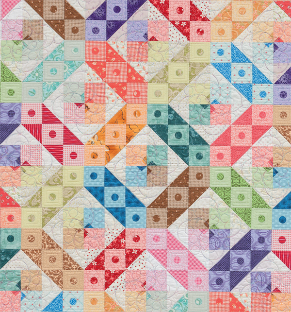 Candy Dots quilt