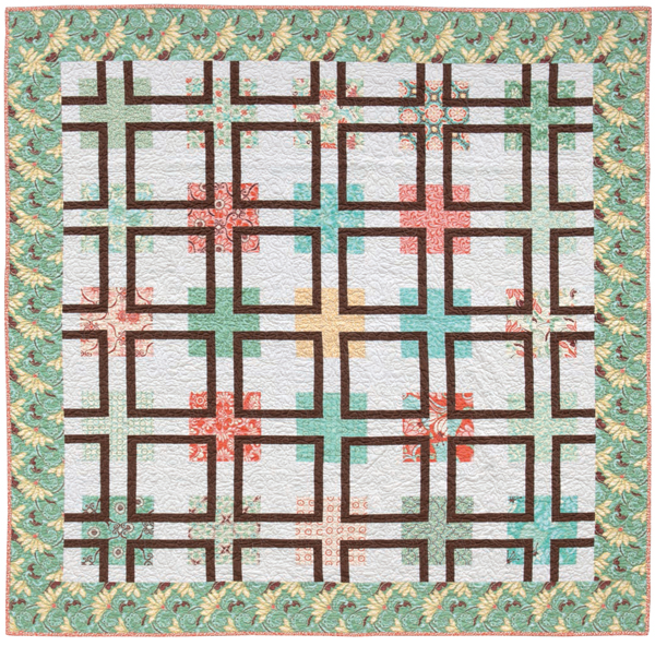 Knotted Squares quilt