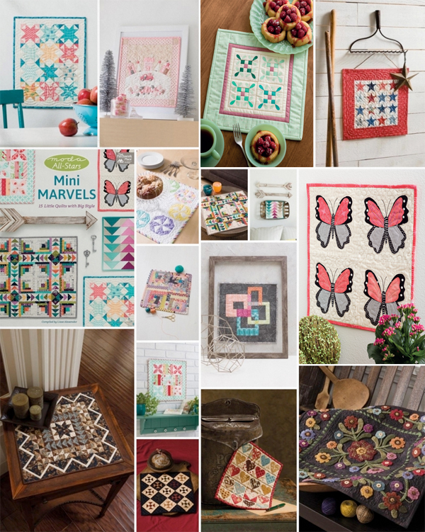 Mini quilts from Mini Marvels