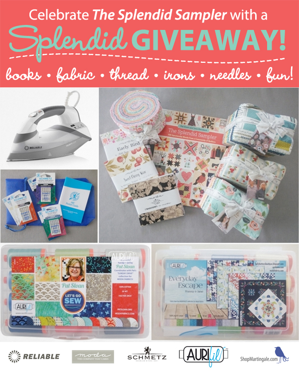 Splendid Sampler big giveaway!