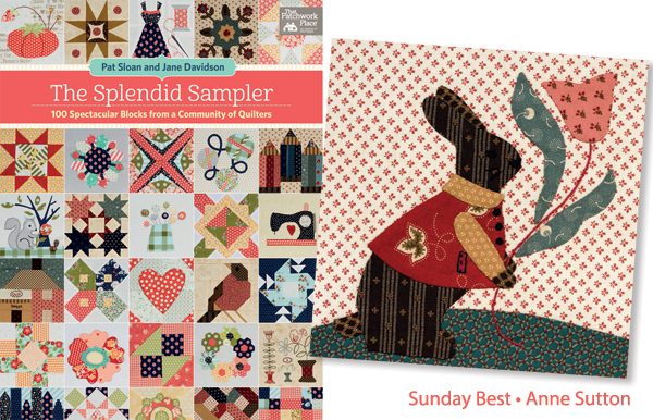 Anne Sutton's Sunday Best quilt block