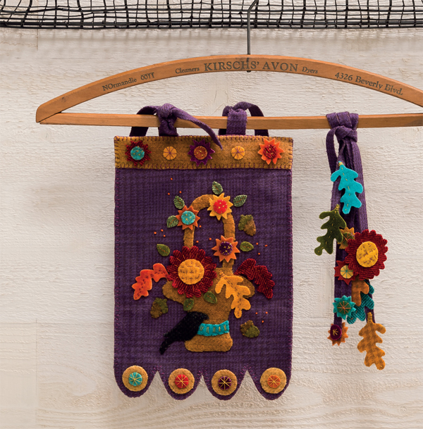 Autumn Abundance Wall Hanging