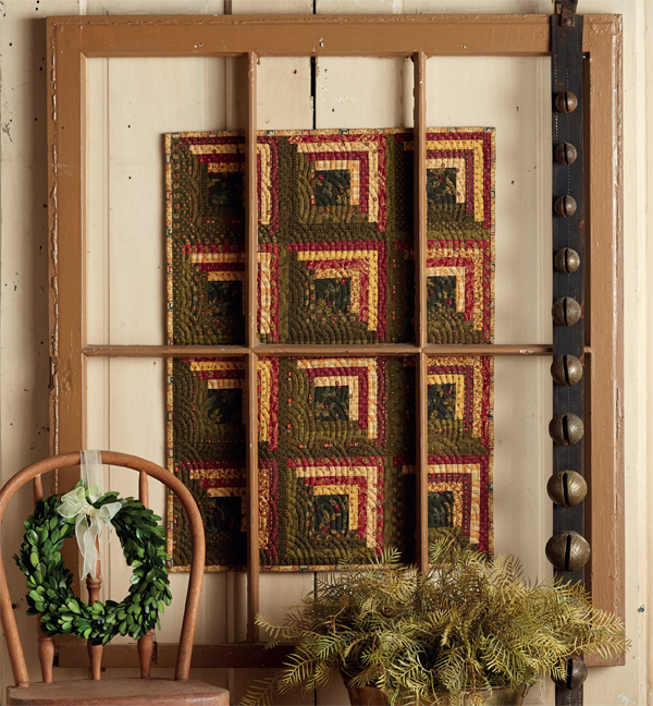 Christmas Log Cabins - or Not quilt from Jo's Little Favorites