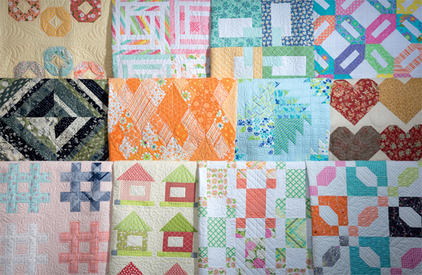 Designs from 12-Pack Quilts