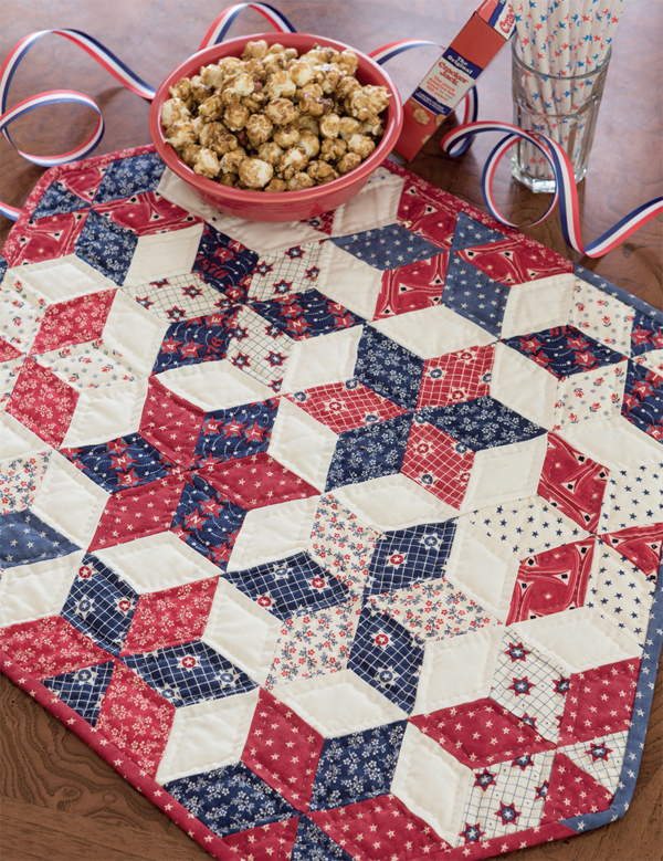 Stars of Freedom quilt
