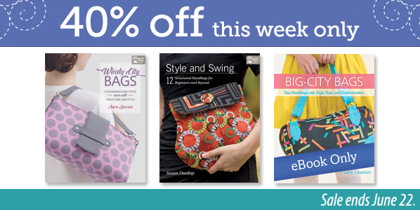 Save 40% on select bag books
