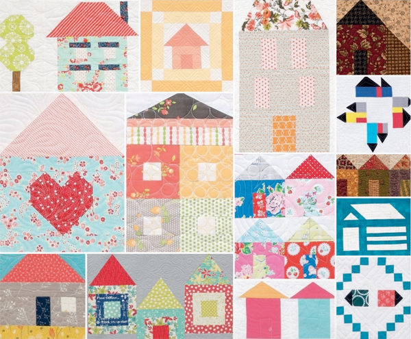 House quilt patterns house plan 2017 for House pattern