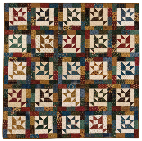 Market Baskets quilt