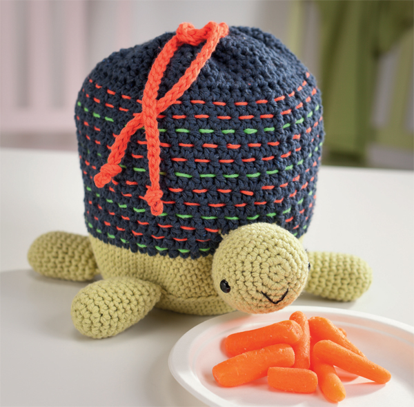 Turtle Lunch Tote